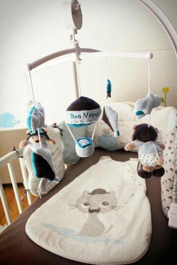 Idée décoration pour chambre d'enfant ou bébé thème voyage ...