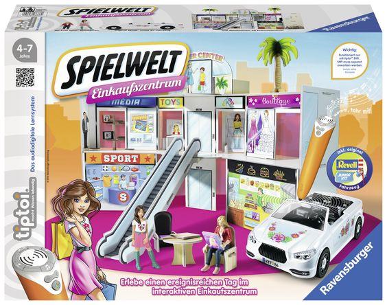 tiptoi Spielwelt Einkaufszentrum von Ravensburger