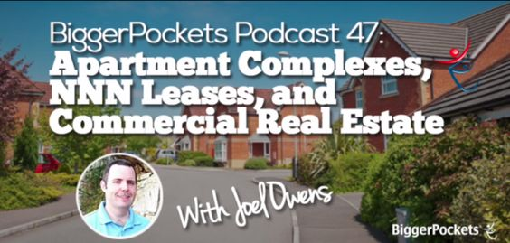 BP Podcast 047: Apartment Complexes, NNN Leases, and Commercial Real Estate with Joel Owens