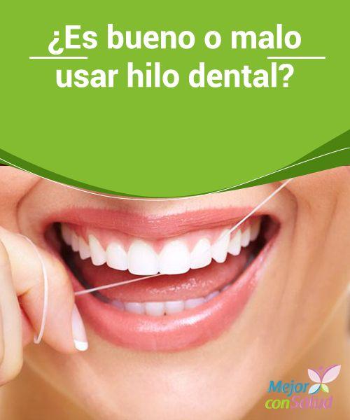 ¿Es bueno o malo usar hilo dental? Aunque el hilo dental puede provocarnos lesiones y sangrados si no lo sabemos usar correctamente, lo cierto es que es el complemento ideal para completar nuestra higiene oral