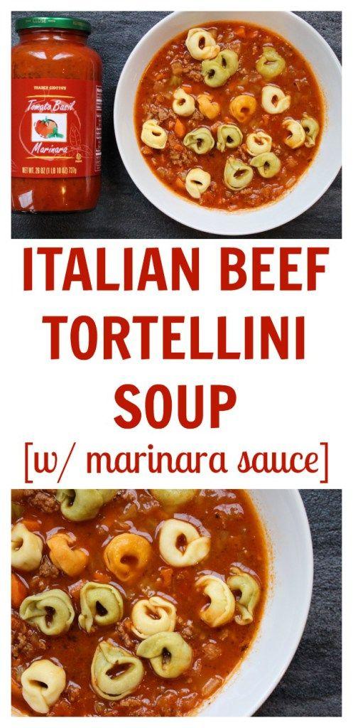 Italian Beef Tortellini Soup Mom To Mom Nutrition Recipe Tortellini Soup Tortellini Italian Beef