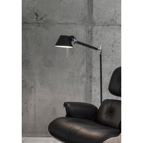 Artemide Tolomeo Lettura Floor Lamp Black Black Floor Lamp Floor Lamp Lighting Floor Lamp