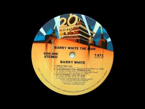 Barry White Your Sweetness Is My Weakness 20th Century Records