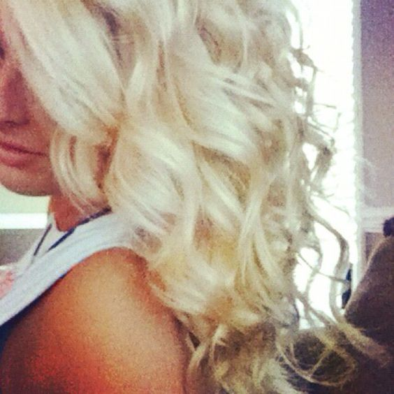 Curls: Blonde Curlzz, Hairstyles, Hair Colors, Hair Styles, Clothes Hair Shoes, Hair Andd, Hair And Makeup, Clothes Hair Girly Stuff