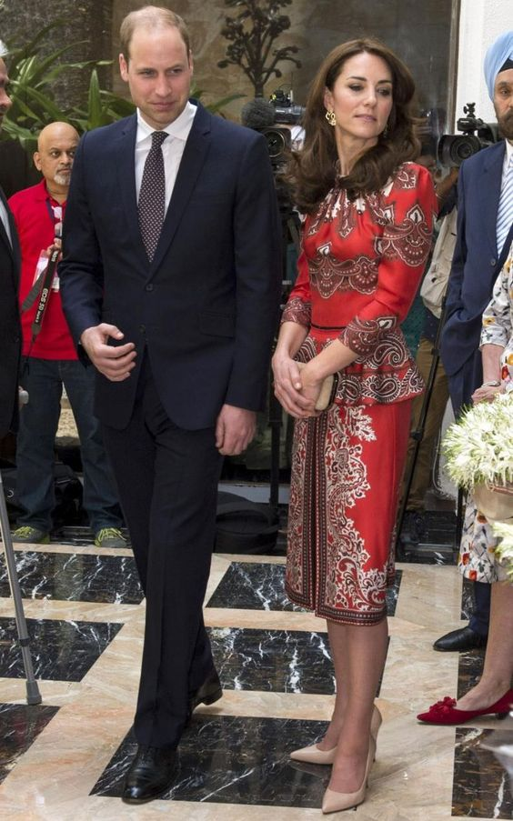 Kate Middleton and Prince William begin their seven-day tour of India and Bhutan, in pictures:
