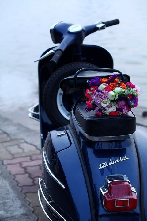 I loved my Vespa 150. Traded it for a P200 :-(: