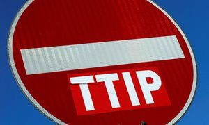 'TTIP appears to be dead. People power wins. For now.' The transatlantic trade deal TTIP may be dead, but something even worse is coming, by George Monbiot in the Guardian, 6 Sept 2016; Governments and corporate lobbyists keep inventing new ways to embed privatisation and circumvent democracy – in this case, the Canada-EU deal