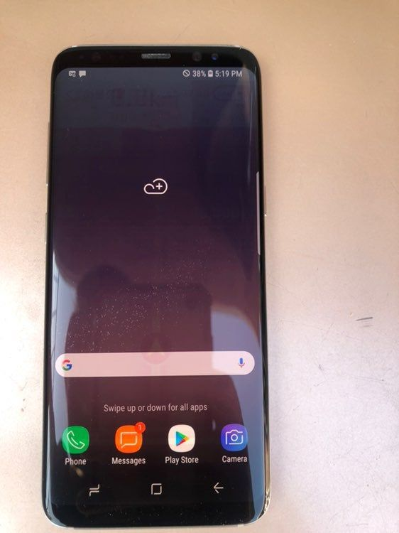 Samsung Galaxy S8 64gb Silver Euc Unlocked Carrier In Excellent Used Condition With Light Signs Of Use Throughout Has Light Galaxy S8 Samsung Samsung Galaxy