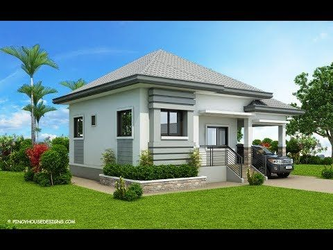 5 Modern Designs For A 3 Bedroom Bungalow House Style With Floor Plans Youtube Modern Bungalow House Design Modern Bungalow House Plans Modern Bungalow House