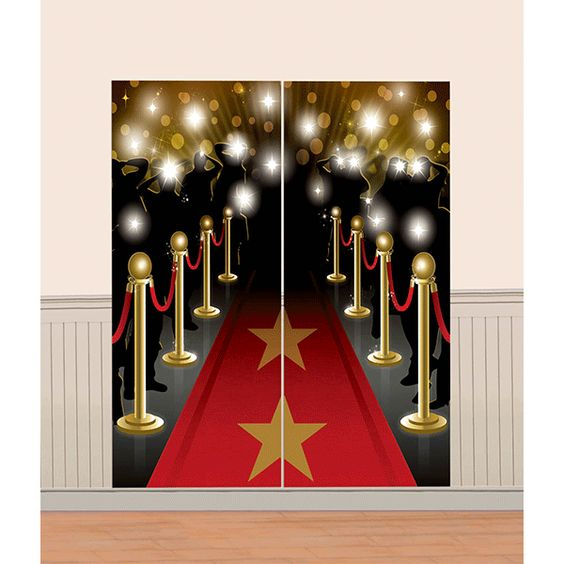 Hollywood Scene Setter Wall Decoration 5.5ft