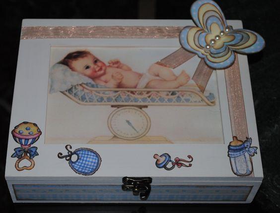 cajas bebé
