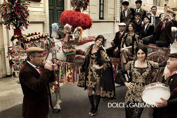 Dolce & Gabbana Ad Campaign in Sicily