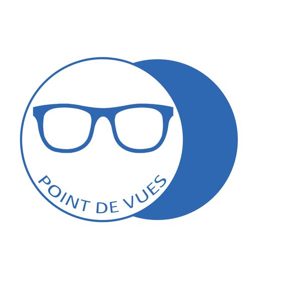 Logo Point de Vues Réalisé avec l'Agence Be Com'Web