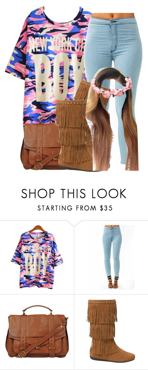 """Tb To My Old Sets"" by clinne345 ❤ liked on Polyvore featuring moda y Proenza Schouler"