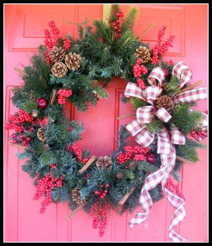 Petal Pushers Wreaths ~ this person makes THE most gorgeous wreaths,  not skimpy looking ones either, their wreaths are so full and gorgeous!