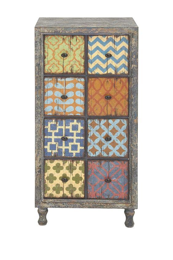 Wooden 8-Drawer Chest | Nordstrom Rack
