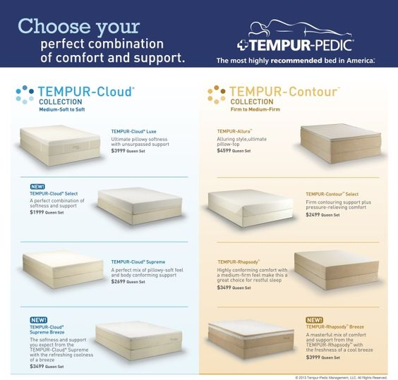 Choose Your Perfect Combination @ Miller Waldrop Furniture U0026 Decor   Hobbs  NM 575.392.6508   #Tempurpedic | Our Brands | Pinterest