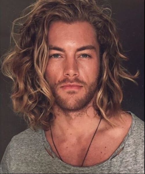 Blonde Beach Waves Modern Haircuts For Men Haircuts For Men Long Hair Styles Men Cool Hairstyles For Men