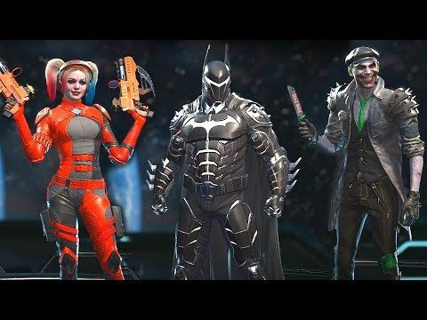 Injustice 2 Legendary Edition All New Epic Gear Sets All Characters Including All Dlc Youtube Injustice 2 Injustice Classic Comics