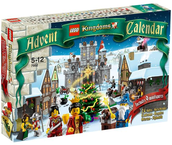 Адвенткалендарь Lego