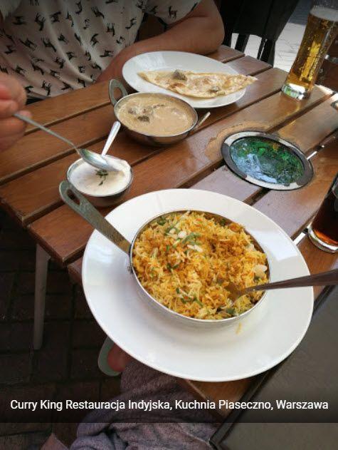 Najlepsze Indyjskie Dania Juz Na Was Czekaja Ogrodek Prawie Pelny Takze Dzwonie I Rezerwujcie Curry King Https Www Curryking P Food Curry Saute Pan