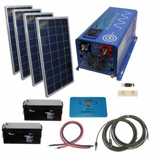 480 Watt Off Grid Solar Kit With 2000 Watt Power Inverter Charger 24 Volt Solarpanels Solarenergy Solarpower Sola In 2020 Solar Energy Panels Solar Kit Solar Panels