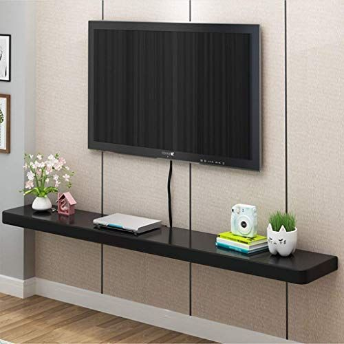 Enjoy Exclusive For Wall Mounted Tv Cabinet Floating Shelf Wall Shelf Multimedia Wifi Router Set Top Box Cable Box Storage Shelf Wall Table Floating Shelf Colo In 2020 Wall Mounted Tv Cabinet