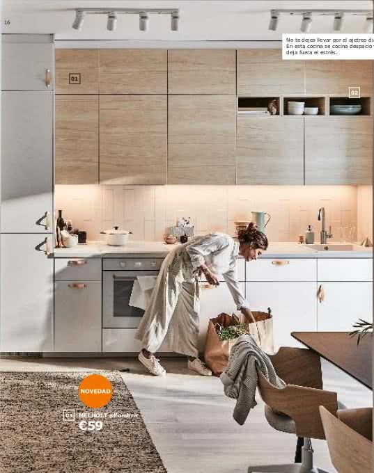 Cocinas Ikea 2019 Todas Las Imagenes Y Precios Brico Y Deco Ikea Kitchen Catalogue Ikea Kitchen Ikea New