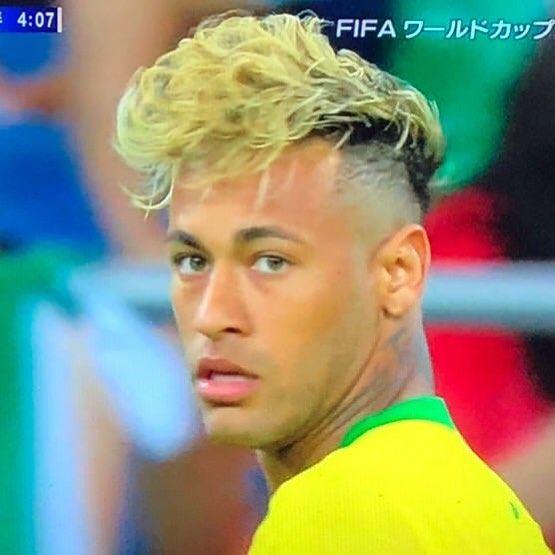 Cool Hair Style Neymar Worldcup Brazil Neymar Cool Hairstyles Neymar Jr