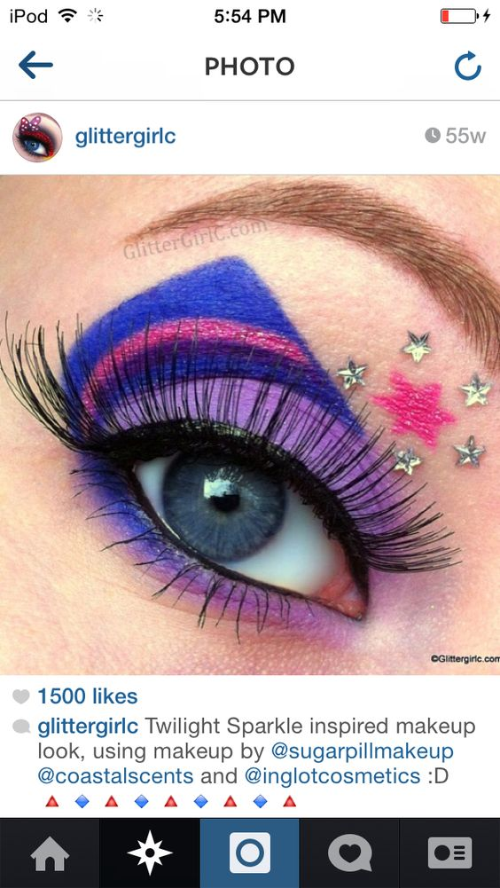 Twinkle sparkle inspired look