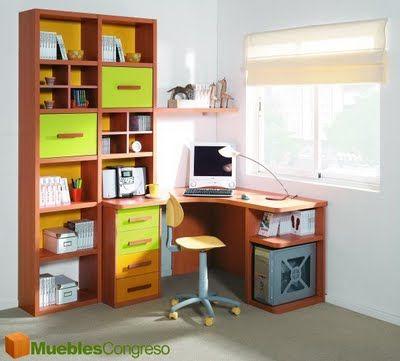 Image gallery escritorios juveniles for Escritorios juveniles