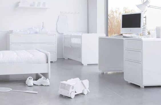 Luxury Nursery Furniture from Woodwork Belgium's Pure range