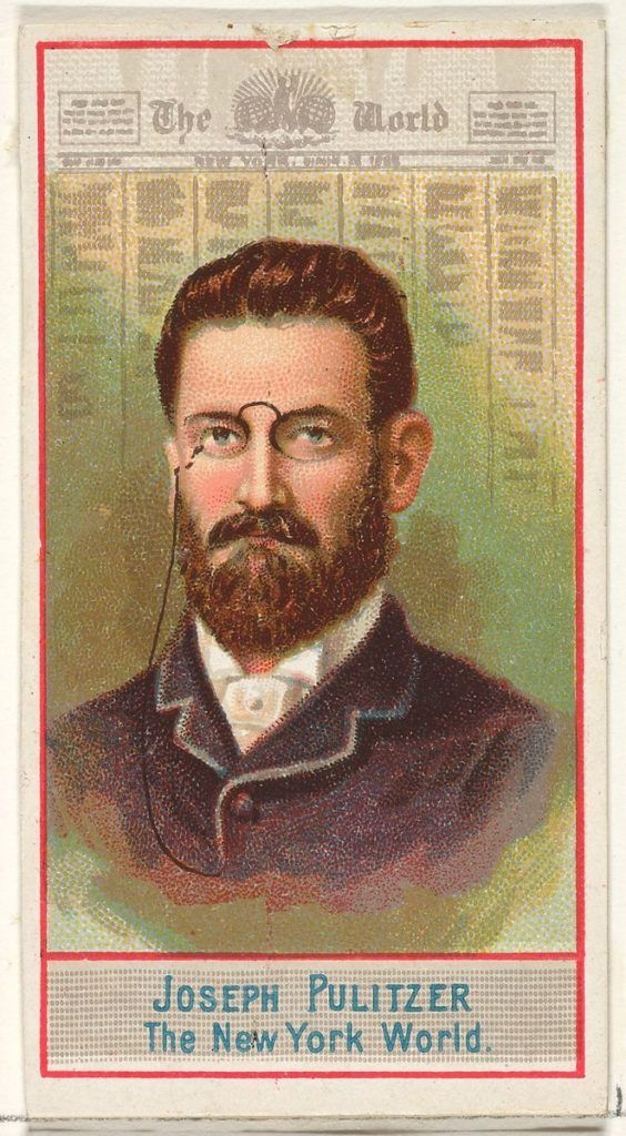 """Joseph Pulitzer Spoke of """"Fake News"""" Over 100 Years Ago And It's Consequences to Democracy – PBS American Masters – Baumwoll Archives"""