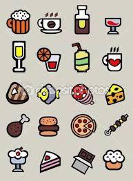 Resultado de imagem para comida e bebida