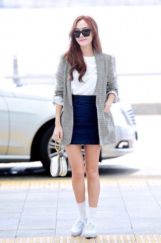 Jessica Airport Fashion 2017 Official Korean Fashion Koreanclothingstyles Korean Airport Fashion Jessica Jung Fashion Korean Fashion