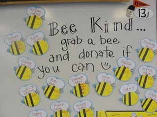 Donation Bee! Great for open house or conference nights, once you have a chance to see what you need.