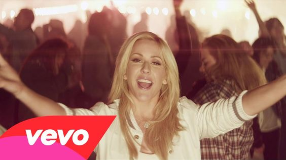 """Song of the Day 1.21.14  Ellie Goulding's """"Burn"""" dude and dudettes, i dare you to not dance around to your undies in this song. not that i did that or anything :/ lol enjoy lovies, BESOS!"""