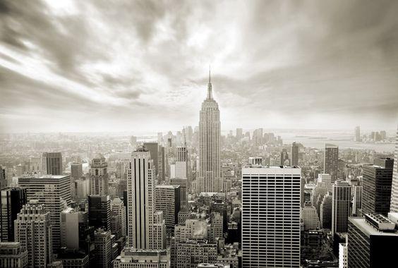 Papier peint panoramique : Ville New York