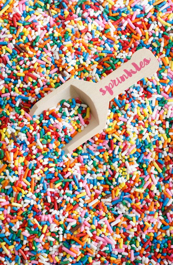 Say yes to sprinkles!