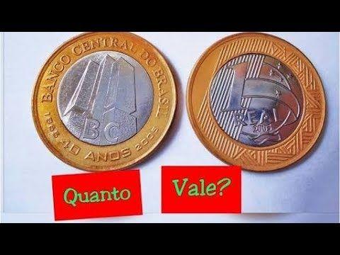 Compro Moedas Comemorativas Banco Central 40 Anos 200 Reais