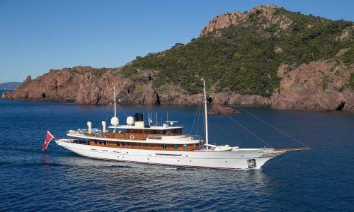 JK Rowling's superyacht Amphitrite listed for sale