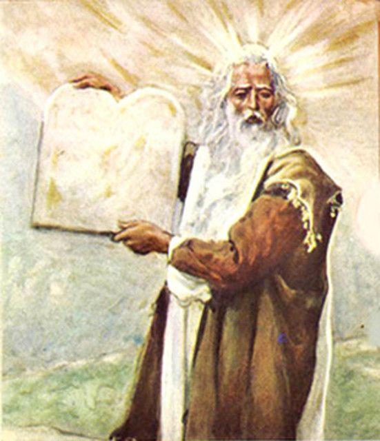 Moses transfiguration