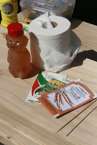 How To Make Your Own Seed Tape Using Toilet Paper And