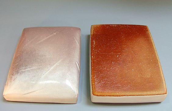 Modern Hagi Ceramic Box by Miwa Eizo