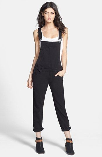 Free shipping and returns on Paige Denim 'Sierra' Overalls (Vintage Black) at Nordstrom.com. Inky, black-washed denim fashions country-cute overalls with a modern edge. The tailored, loose fit and long straps in back offer a flattering look in classic Americana style.