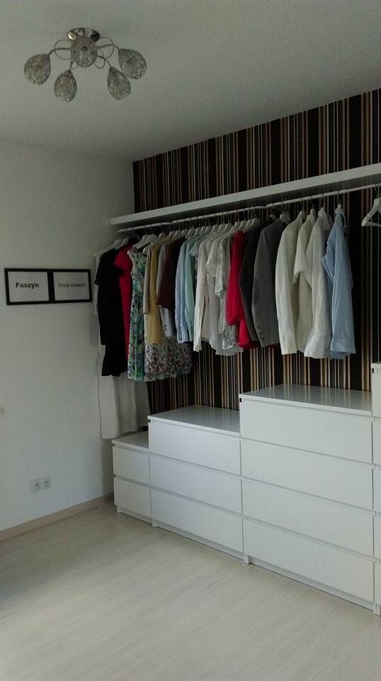Garderoba Malm Garderoba Malm Schlafzimmermalm In 2020 Garderobe Ikea Ikea Kleiderschrank Schrankorganisation