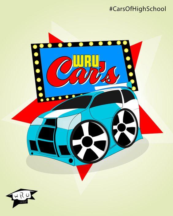 WRU Cars on Behance