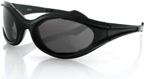 Bobster Foamerz Sunglasses, Black Frame, Smoked Anti-Fog Lenses, ES114 Bobster Eyewear. $16.18