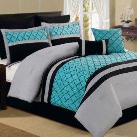 Comforter set from Anna's lien.