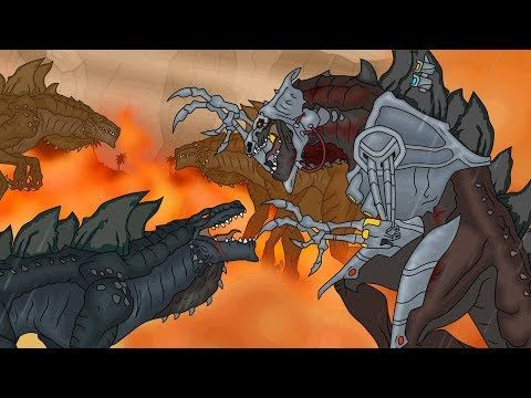 кинг конг против годзиллы 7 кибер зилла начало King Kong Vs Godzilla Cyber Zilla Origin Youtube Atelier Papeis De Parede